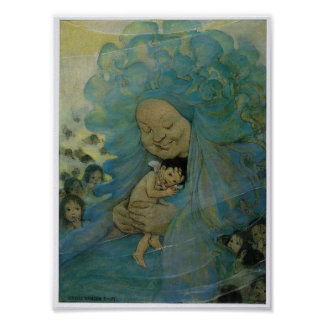 Mrs. Doasyouwouldbedoneby and Water babies, 1916 Poster