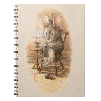 Mrs. Dormouse Knitting Note Book