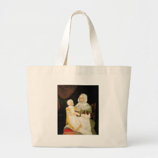 Mrs. Elizabeth Freake and Baby Mary, ca. 1671-1674 Large Tote Bag