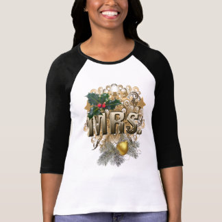MRS. First Christmas T-Shirt