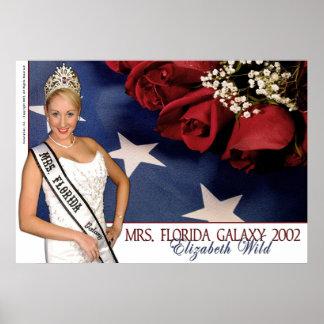 Mrs. Florida Galaxy 2002 - Elizabeth Wild - 2 Poster