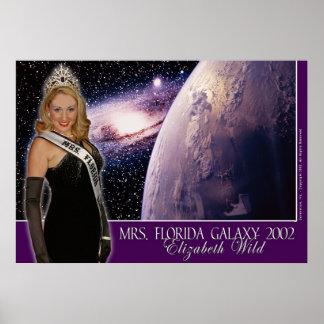 Mrs. Florida Galaxy 2002 - Elizabeth Wild - 3 Poster