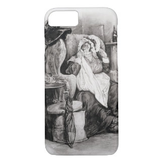 Mrs Gamp, from 'Charles Dickens: A Gossip about hi iPhone 7 Case