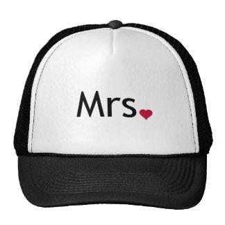 Mrs  - half of Mr and Mrs set Trucker Hat