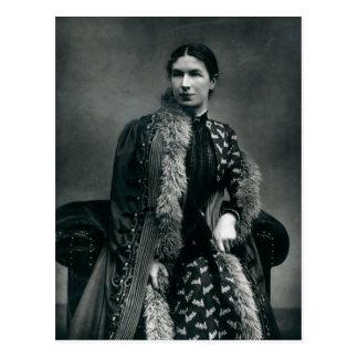 Mrs Humphry Ward, 1881 Postcard
