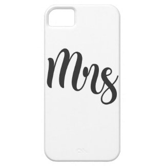 Mrs iPhone 5 Covers