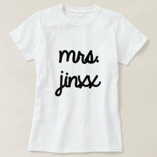 Mrs. Jinxx T-shirts