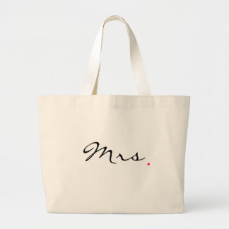 Mrs . large tote bag