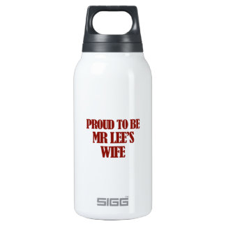 Mrs lee designs insulated water bottle