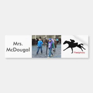 Mrs. McDougal Bumper Sticker