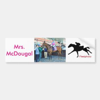 Mrs. McDougal & Jose Ortiz Bumper Sticker