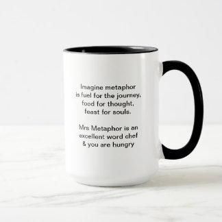 Mrs Metaphor Signature Mug