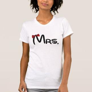Mrs Mr couple T Shirts