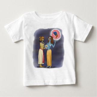 Mrs Mummific shopping Baby T-Shirt