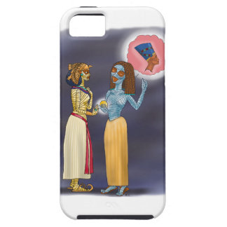 Mrs Mummific shopping iPhone 5 Case