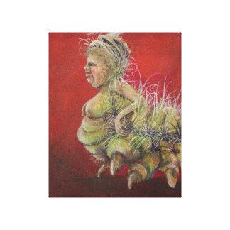 Mrs. Nesbit Canvas Print