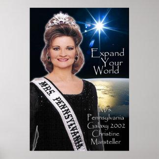 Mrs. Pennsylvania Galaxy 2002 - 3 Poster
