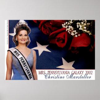 Mrs. Pennsylvania Galaxy 2002 - lt. Blue Poster