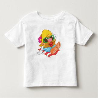 Mrs. Potato Head Sunbathing Toddler T-shirt