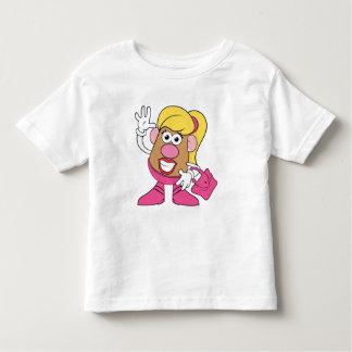 Mrs. Potato Head Waving Toddler T-shirt