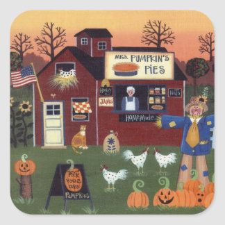 Mrs. Pumpkin's Pies Sticker