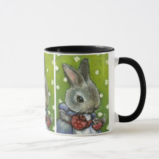Mrs Rabbit making tea