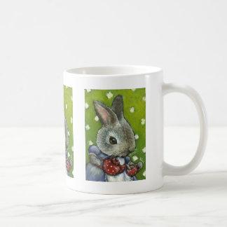Mrs Rabbit making tea Coffee Mugs