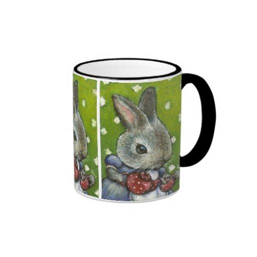 Mrs Rabbit making tea Coffee Mug