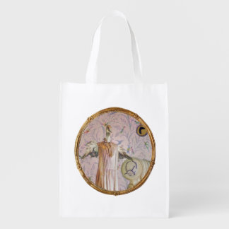 Mrs. Smew's Portrait Reusable Grocery Bag