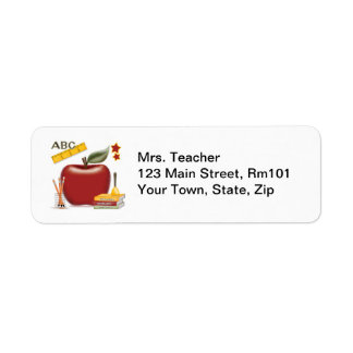 Mrs. Teacher Address Labels