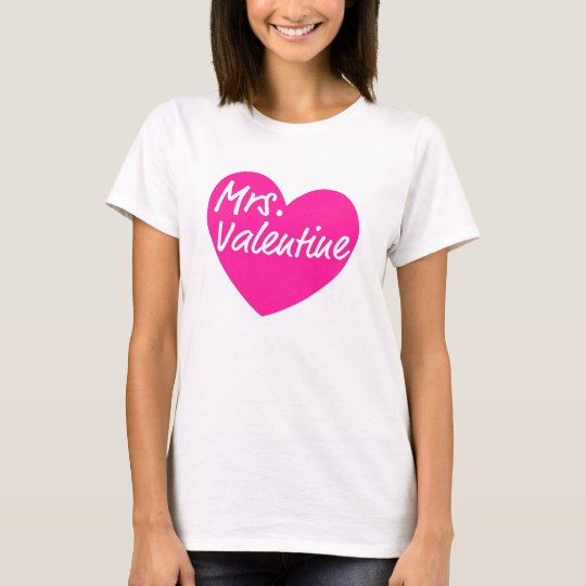 Mrs. Valentine T-Shirt