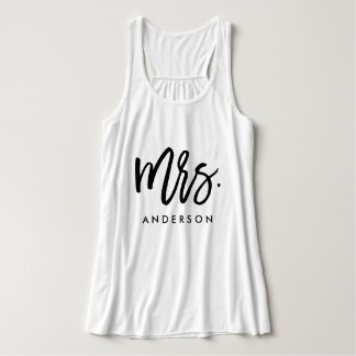 Mrs. Wedding Tank Top