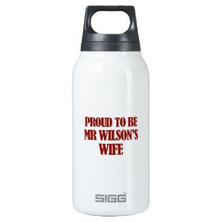 Mrs wilson designs insulated water bottle