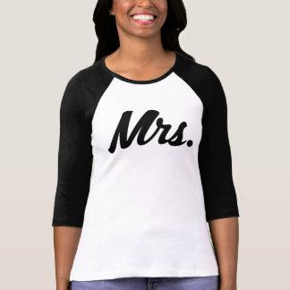 Mrs womens raglan shirt