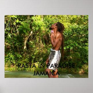 mrsjamrock-p@sbcglobal.net 025, RASTA IN PARADI... Poster