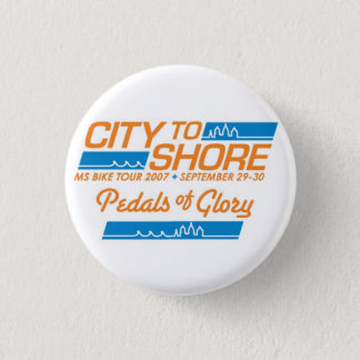 MS150 City to Shore 2007 Pin