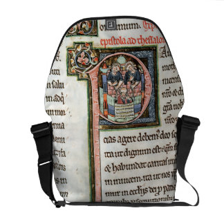 MS 3 Fol. 291v The Escape of Saint Paul from Damas Commuter Bags