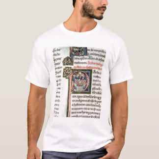 MS 3 Fol. 291v The Escape of Saint Paul from Damas T-Shirt