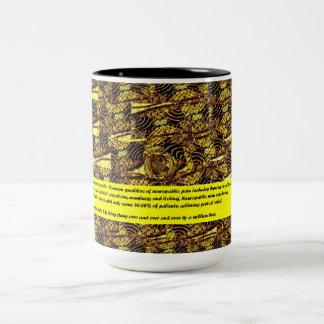 MS Awareness - A Million Beez Two-Tone Coffee Mug