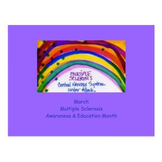 MS Awareness & Education Postcard