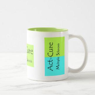 MS Awareness Mug ~ Act to CURE