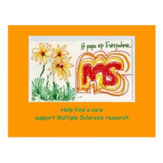 MS Awareness Postcard