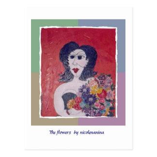 MS Awareness Postcard ~ The Flowers