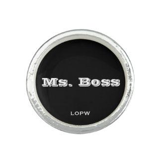 Ms. Boss Rings
