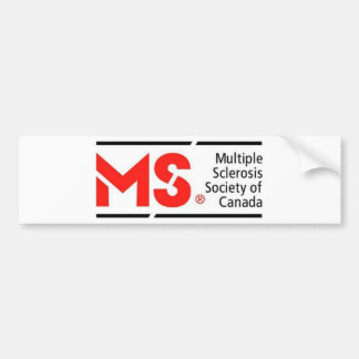 MS Canada Bumper Sticker