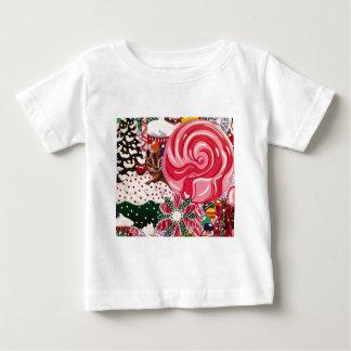 """Ms Elizabeth's Peppermint World"" Baby T-Shirt"
