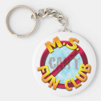 Ms Fun Club no 'CAN'T' keychain