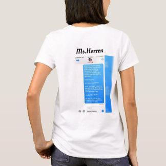 Ms.Herron Text Imagine T-Shirt