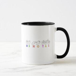 MS HO TAI CUSTOM REQUEST FINGERSPELLED NAME MUG
