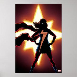 Ms. Marvel Comic #2 Poster